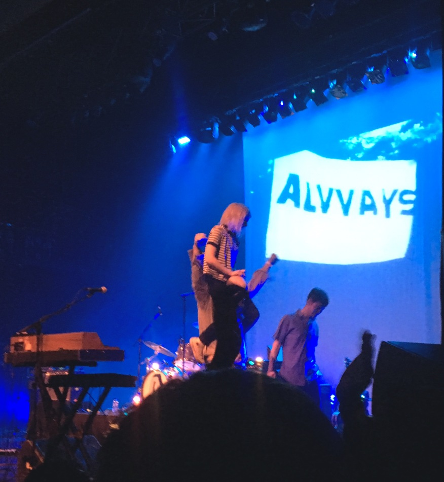 2015 - Alvvays and Fucked Up 2