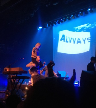 2015 - Alvvays and Fucked Up