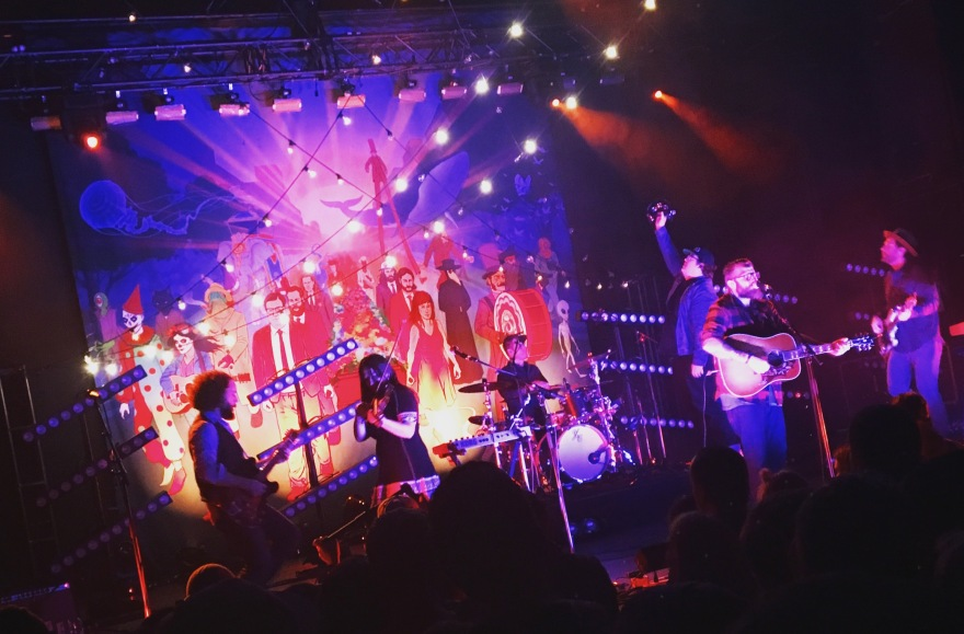 2016 - Strumbellas at Danforth Music Hall