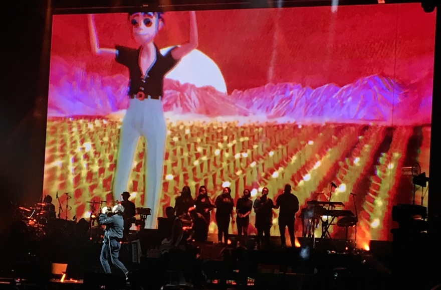 2017 - Gorillaz at ACC
