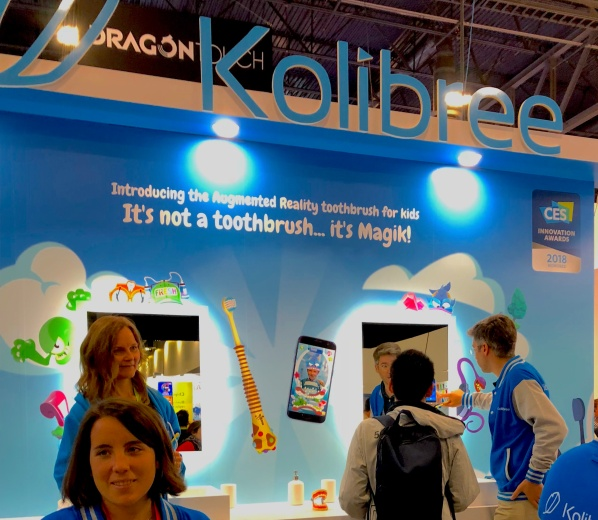 AR - to get kids to brush their teeth