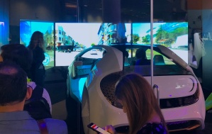 Auto - Autonomous Toyota Concept VR test drive