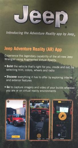 Auto - Jeep AR configurator