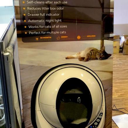 Robotics - self cleaning cat litter