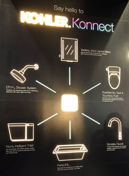 Smart Home - Kohler smart bathroom 12
