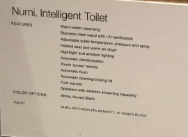 Smart Home - Kohler smart bathroom 7