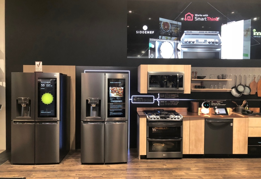 Smart Home - LG Smart Kitchen 2