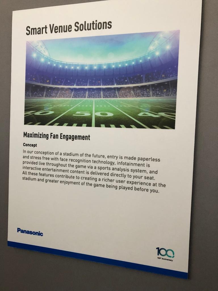 Smart Stadium - Panasonic concept