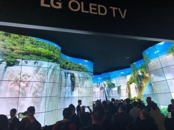 TV - LG Curved OLED 1