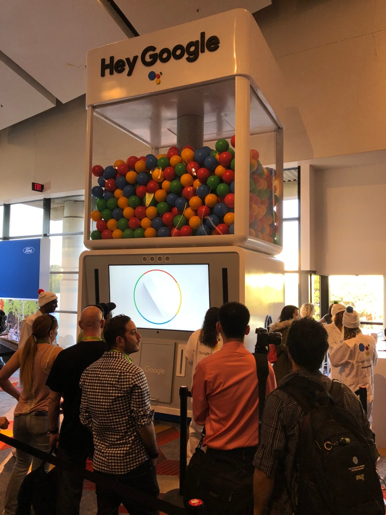 Voice - Google bubble gum machine activation 2
