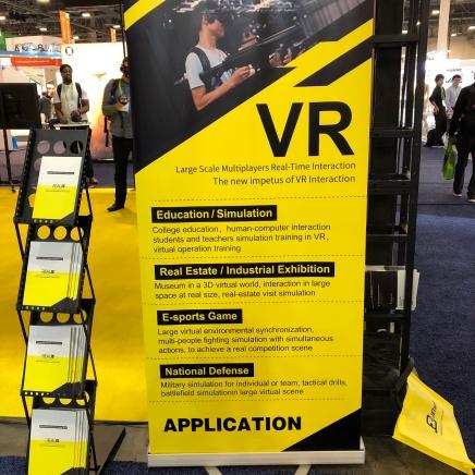 VR interactivity