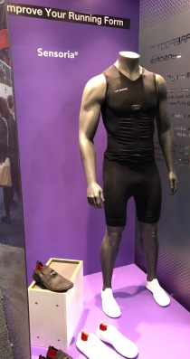 wearables - running gear with sensors